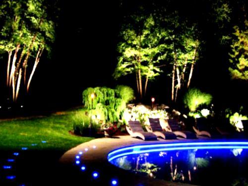 iluminacion de jardines