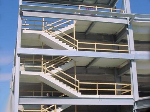 Estructuras de hormigon for Construccion de escaleras de cemento