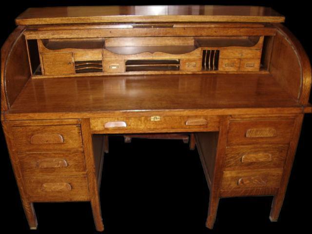 Escritorios de madera escritorios con madera venta de - Venta de escritorios antiguos ...