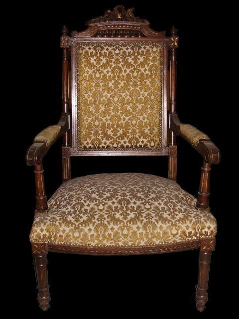 Estilos de muebles antiguos sillas estilo isabelino - Fotos de muebles antiguos ...